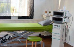 Therapieliege für den physiotherapeutischen Gebrauch